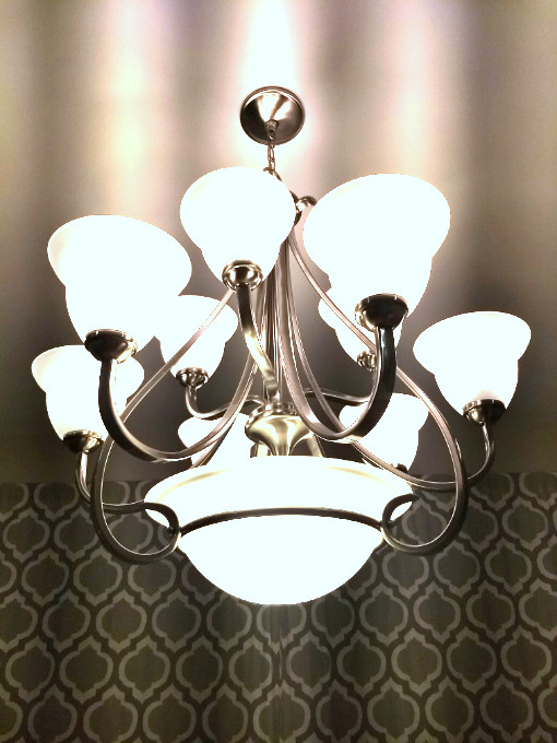Kitchen dining table chandelier